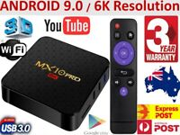 2020 MX10 PRO Smart Android TV BOX 6K for Google Apps Prime Video Disney MXQ Pro