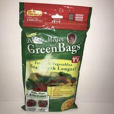 Debbie Meyer Green Bags 20 Bag Variety Pack As Seen on TV Food Storage New