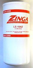 "ZA LE-10-AZ - Zinga Spin on Aqua-Zorb Filter 10 Micron 1-1/2"" - 16 Threads 5.1"""