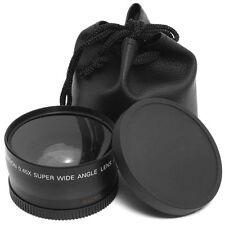 58mm 0.45x Obiettivo Grandangolo Lente Macro per Canon 1100D 700D 650D 600D LF37