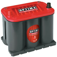 Optima Red Top, 12 V, Starting, 720 Cold Cranking Amps, Top Post, BCI Group 25