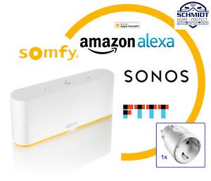 SOMFY TaHoma Box Switch + 1x Funk-Zwischenstecker io - 1870594 / 1822618 - NEU