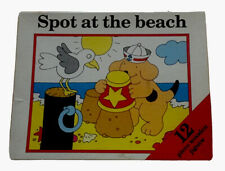 Vintage Spot at the Beach 12 Piece Wooden Jigsaw Puzzle 🐶 from the 1980's 🧩