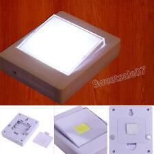 1pc Magnetic Mini COB LED Wireless Closet Cordless Wall Switch Night Light Home