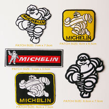 MICHELIN TYRES Race Team Sponsorship Patch Set of FIVE Patches - FREE POST