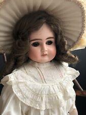 New Listing Antique German 29� Alt Beck & Gottschalck 1123 Turned Bisque Shoulder Head Doll