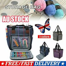 Yarn Storage Bag Handbags Yarn Crochet Knitting Accessory Organizer Crochet AU