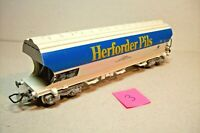 "WAGONS TRAIN HO : (3) TREMIE CEREALIERS ""HERFORDER PILS"" JOUEF OCC (sans boite)"