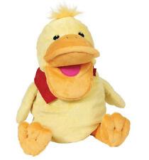 Handpuppe ENTE Vogel Kasperlepuppe Kasperlefigur weich Stoffente Kinderhandpuppe