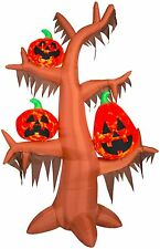 gemmy projection airblown scary tree kaleidoscope inflatable halloween decor