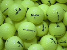 50 srixon soft feel Yellow Golf Balls AAAA lakeballs IN Top Quality Yellow Balls