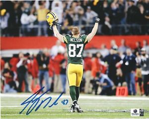 Jordy Nelson Green Bay Packers Signed Autographed 8x10 Photo