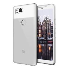 Crystal Clear Soft Gel TPU Anti-Scratch Back Gel Case Fits Google Pixel 2XL