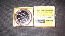 Vintage Dietzgen Architects 10' Steel Pocket Tape Measure #5299-5