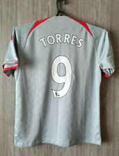 Liverpool fc Torres 2008-09 Away The Reds Football Shirt Soccer Jersey Size XS