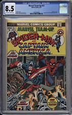Marvel Team-Up #13 CGC 8.5 VF+ OwWp Marvel 1973 Spider-Man & Captain America