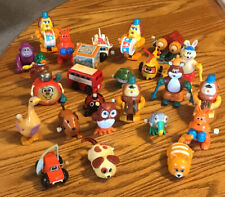 Vintage Lot of TOMY Wind Up Toys Owl Boxer Rabbit Goose Dog Bear Cymbols