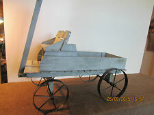 WESTERN, REPLICA, RANCH UTILITY SUPPLY WAGON