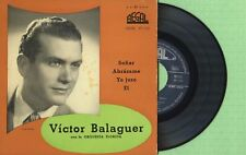 VICTOR BALAGUER Y ORQUESTA FLORIDA / REGAL SEDL 19.110 Press Spain 1957 EP VG+