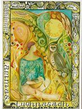 LAMMAS FESTIVAL GREETING CARD 1st Aug PAGAN Solstice Equinox WICCAN JAINE ROSE
