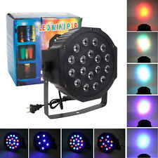 Par 30W RGB LED Stage Light Disco DJ Bar Effect UP Lighting Show DMX-512 Strobe