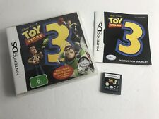 TOY STORY 3 - Nintendo DS - Genuine Version - FREE POST - COMPLETE