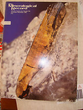 5269 THE MINERALOGICAL RECORD Jahrgang 1990, Heft Nr. 12