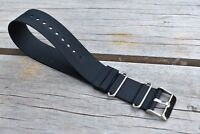 22mm Diver Rubber Watch Strap Band fits Timex Rolex, Tudor, etc & more USA Ship