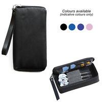 Quality SLIMLINE Multi Pack Dart Board Dart Carry Case Wallet Choose Colour