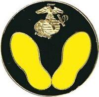 USMC MARINE CORPS 1ST STEPS BOOT CAMP LAPEL PIN