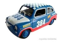 1/43 SEAT 600 RALLY 384 SOLIDO DIECAST