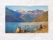 Vintage Postcard: Lake Como, Bitterroot Valley MT, posted 1959-63