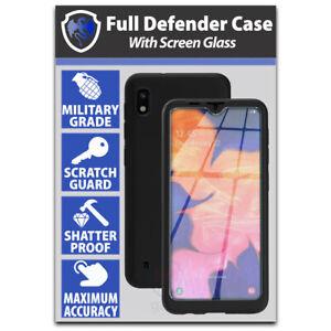 360 Full Body Hybrid Case Cover Screen Protector Samsung Galaxy A10 A20e A50 A70