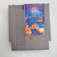 TETRIS NES GAME CARTRIDGE ~ Nintendo Entertainment System 1989 ~ CLEAN & TESTED