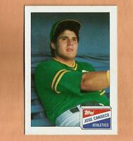 1988 topps BAZOOKA gum JOSE CANSECO ROOKIE CARD #3 Vintage Baseball Oakland A's