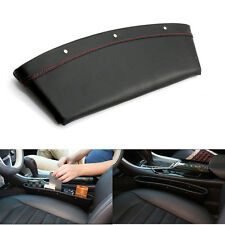 2Pcs Car Seat Side Gap Filler Storage Pocket Organizer for Small Gadgets