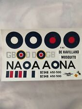 1/72 FROG D.H. Mosquito RAF & RAAF decal