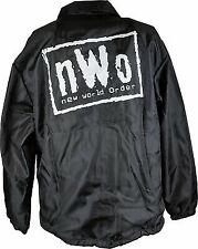 nWo New World Order Chalkline Coaches Jacket Windbreaker