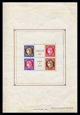 Francia - Hojas bloque- Año: 1937 - numero 00003 - ** Pexip / OFERTA