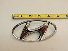 Hyundai Accent 1999-2002 OEM GENUINE Parts Front H Logo Emblem 8630038000