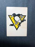 1977 O Pee Chee Team Logo - Team Records Pittsburgh Penguins