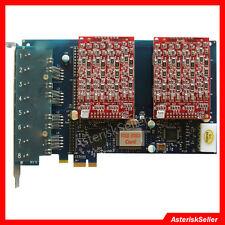 Asterisk card AEX800 8 Port FXO Card FXS Card Freepbx,Issabel,tdm800p TDM Card
