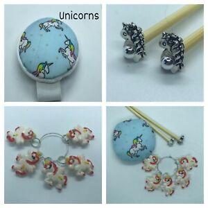 Unicorn Knitting Gift Set Handmade