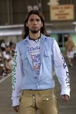 DSQUARED2 HOT DIGGIDDY COLLECTION S/S 2004 longsleeve SHIRT XL