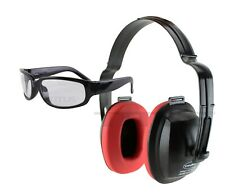 TITUS Hearing Protection Earmuffs Noise Reduction & Shooting Glasses Range Gear