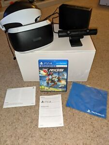 Sony PSVR (V2) Bundle + RIGS - Boxed & In Great Condition - For PS4 / PS5
