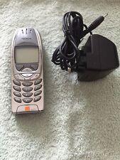 Nokia 6310i - Silver Orange,Mobile Phone (Good used condition&original working)