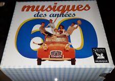 READER'S DIGEST MUSIQUES DES ANNEES 60 TRES RARE COFFRET 5 CD