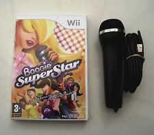 BOOGIE SUPERSTAR SINGING GAME AND MICROPHONE WII PAL