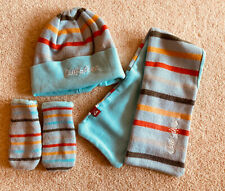 Baby Timberland Hat, Scarf And Glove Set